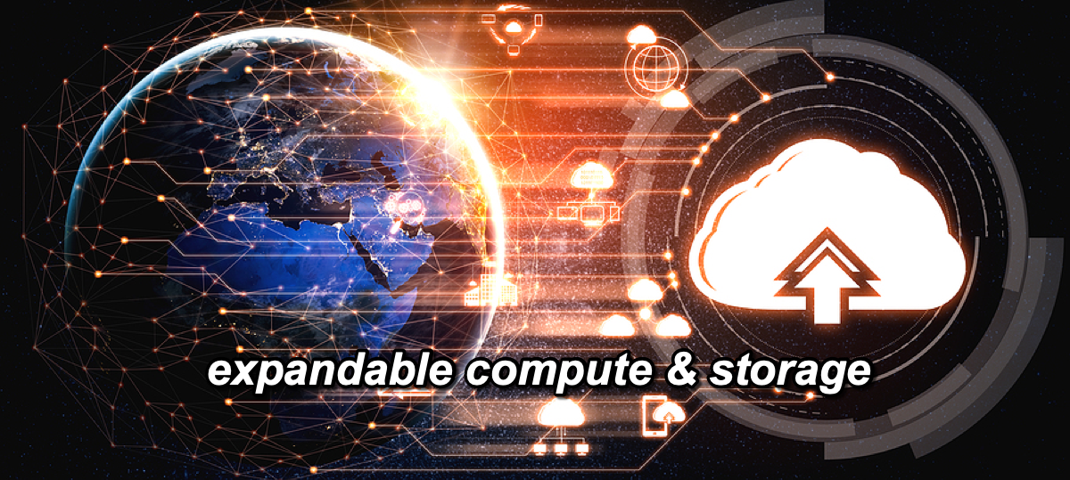 The benefits of an expandable compute & storage system
